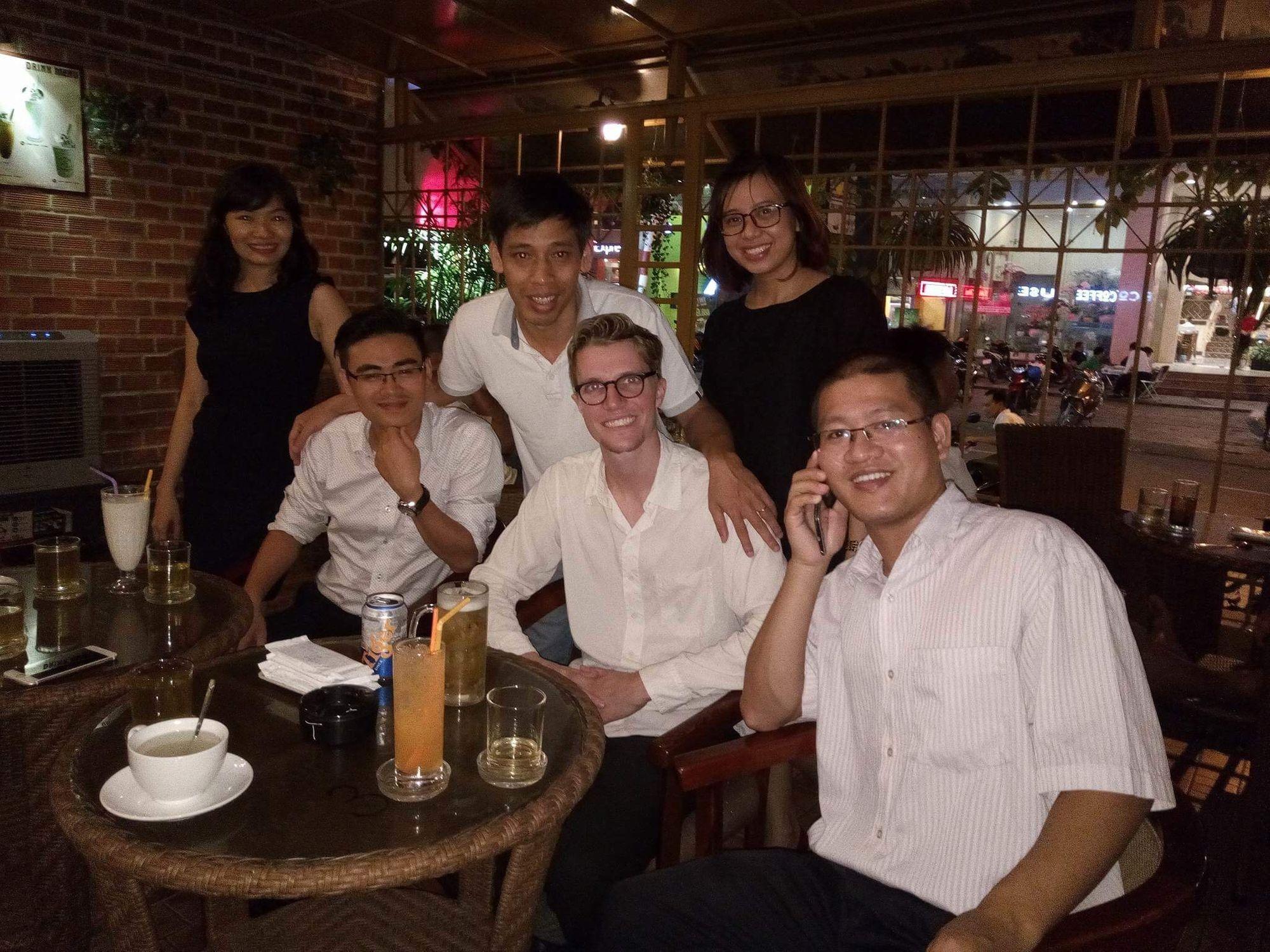 Aaron in Vietnam