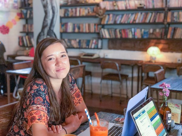 Digital Nomad Steph Smith talks learning coding while working full-time