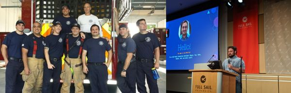 From firefighter to web developer (via nursing) - how Lee did it